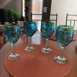 Bambeco Aqua Del Sol Glassware